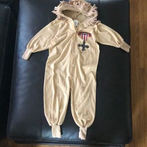Vintage wizard of oz Lion costume 3T
